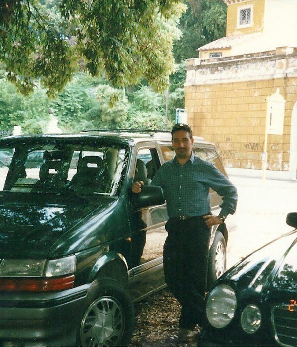 Me at Villa Borghese 2001